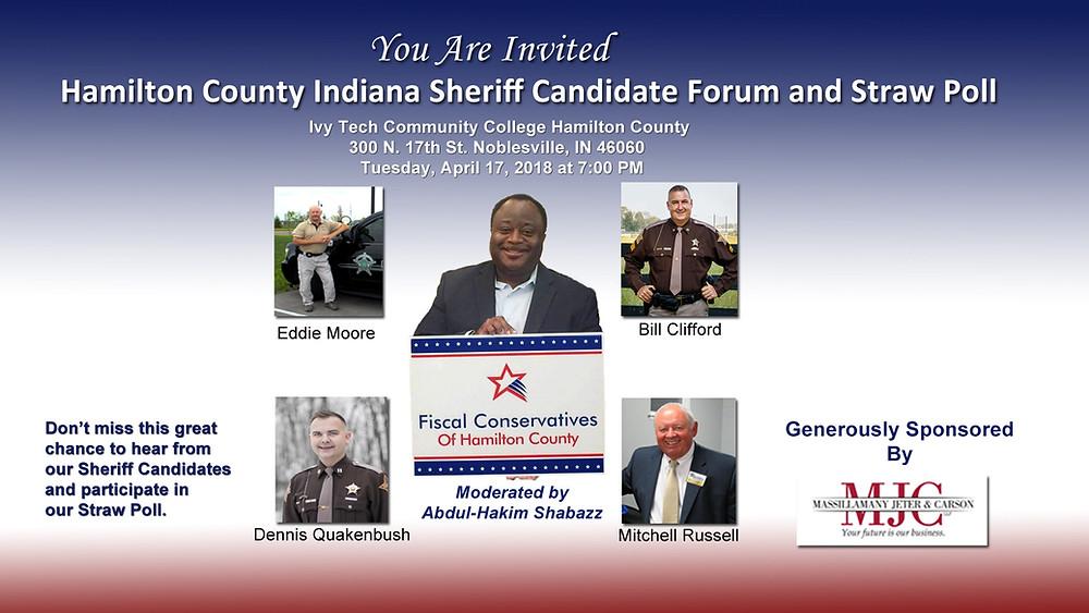 Hamilton County Sheriff Forum