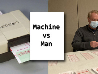 HSE Recount - Machine versus Man