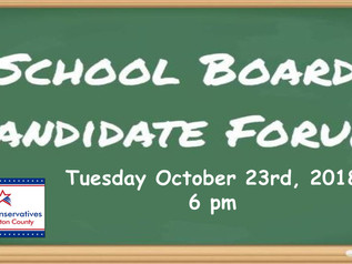 HSE School Board candidate forum