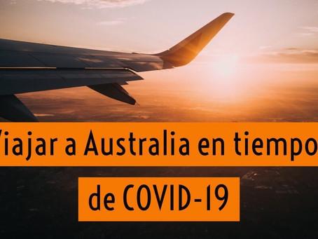 COVID-19  y opciones de viajar a Australia | 11 Preguntas frecuentes