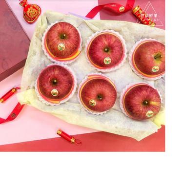 日本蜜富⼠蘋果(6顆)