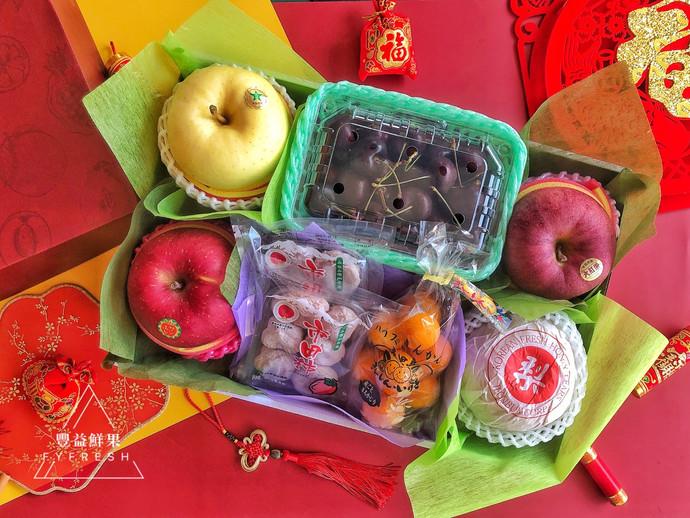 進口綜合水果禮盒