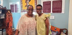 Michelle Lewis & Gloria Douglas