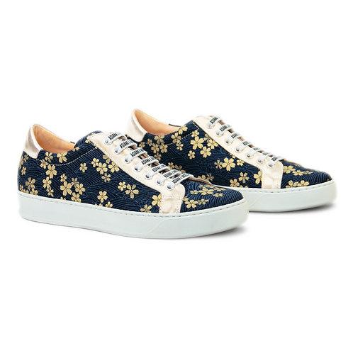 Sakura waves sneakers