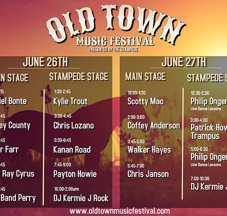 Temecula Stampede Presents Old Town Music Festival