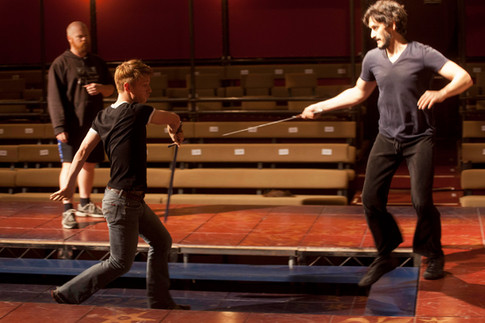 Assistant Fight Choreographer. Fight Choreographer: Michael Toomey With Henry Clarke, Tim Veneble adn Michael Toomey Photo Credit: Kevin Sprague