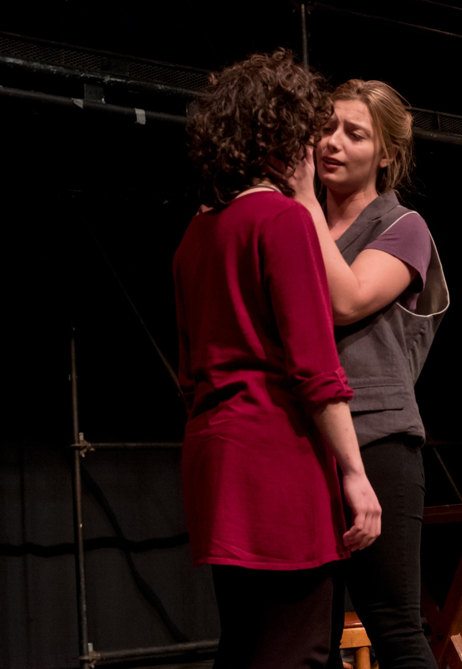 Angelina Mussro and Emily Lowes - Taming of The Shrew - Shakespeare & Company
