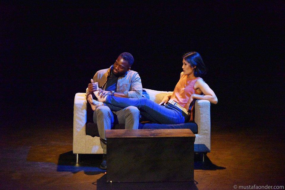 Gareth Lawson and Marissa Carpio
