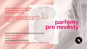 pozvánka na workshop: parfémy pro nevěsty