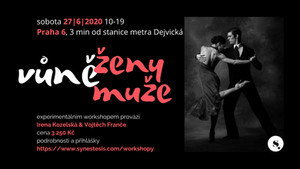 pozvánka na workshop: vůně ženy, vůně muže