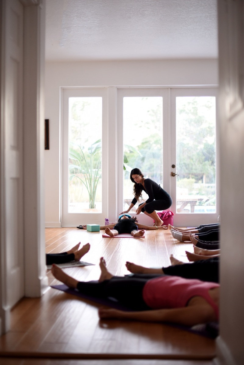 Adult Yoga for Tree Top Academy Staff