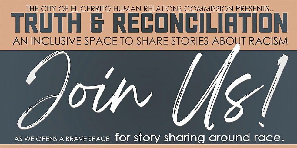 Truth and Reconciliation: An Inclusive Space to Share Stories About Racism