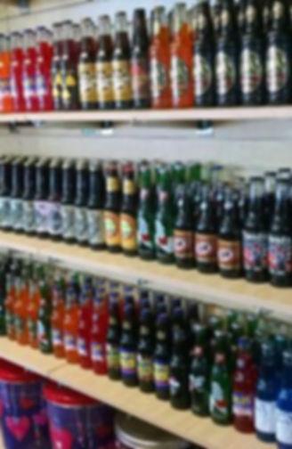 Vintage Sodas, Soda Wall