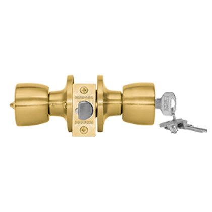 Cerradura embutida cilindrica oficina/dormitorio Safer