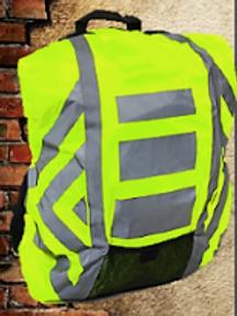Cubre mochila alta visibilidad