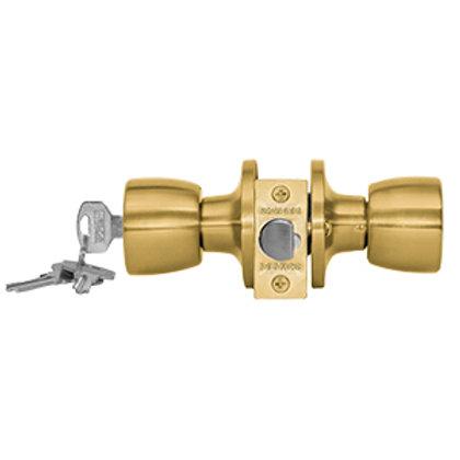 Cerradura embutida cilindrica Acceso Safer