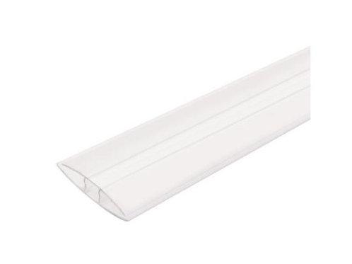 Perfil policarbonato H 2.90 4 a 6 mm Transparente
