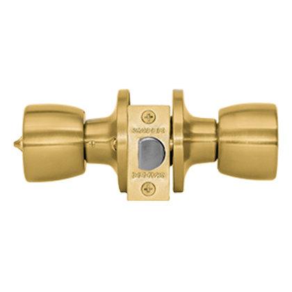 Cerradura embutida cilindrica baño/dormitorio Safer