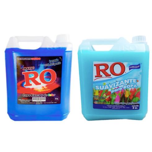 Pack lavado RO / Detergente 5lt + Suavizante 5lt