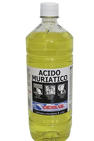 Ácido muriático 1L