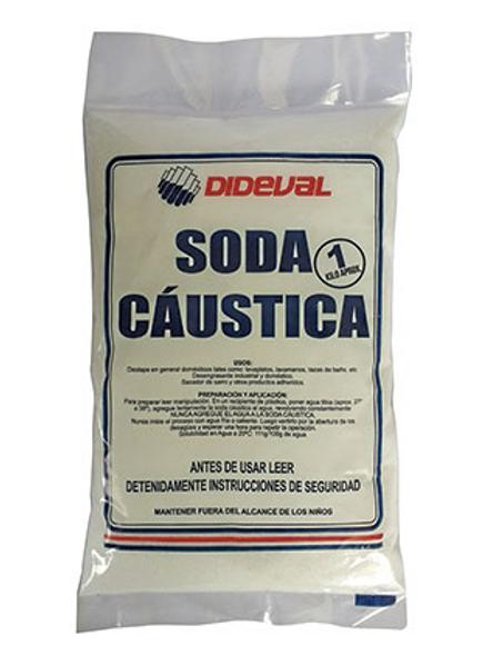 Soda caustica 1k