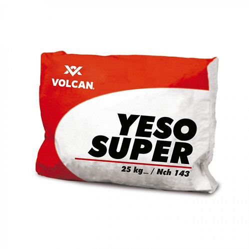 Yeso Volcán 25 kg