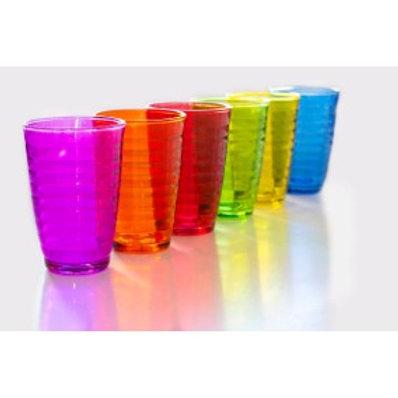 Vasos de colores 6 unidades