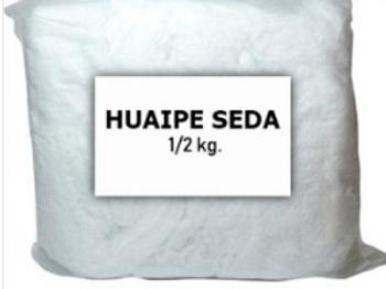 Huaipe de seda blanco 500gr