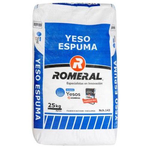 Yeso Romeral 25 kg