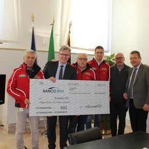 Il Rally Club Valpantena dona 3.000 Euro ai comuni veneti colpiti dal maltempo