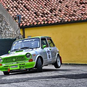 Al 1° Lessinia Rally Historic premio speciale per le A112 Abarth