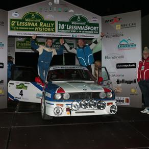 """""""Raffa"""" e Paolo Scardoni concedono il bis. Vittoria al 2° Lessinia Rally Historic."""