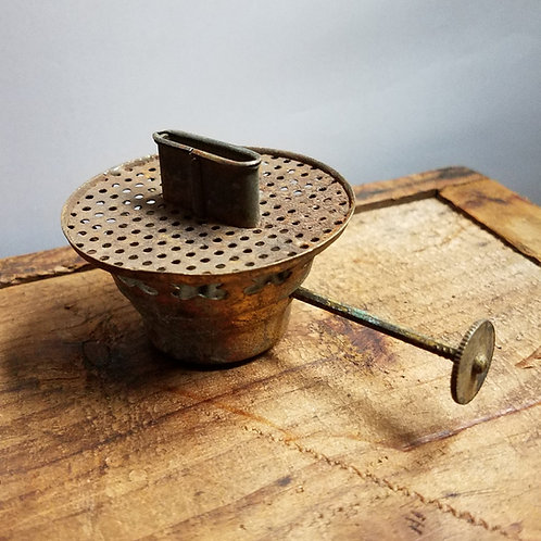 Brass No.2 burner (tin screen)