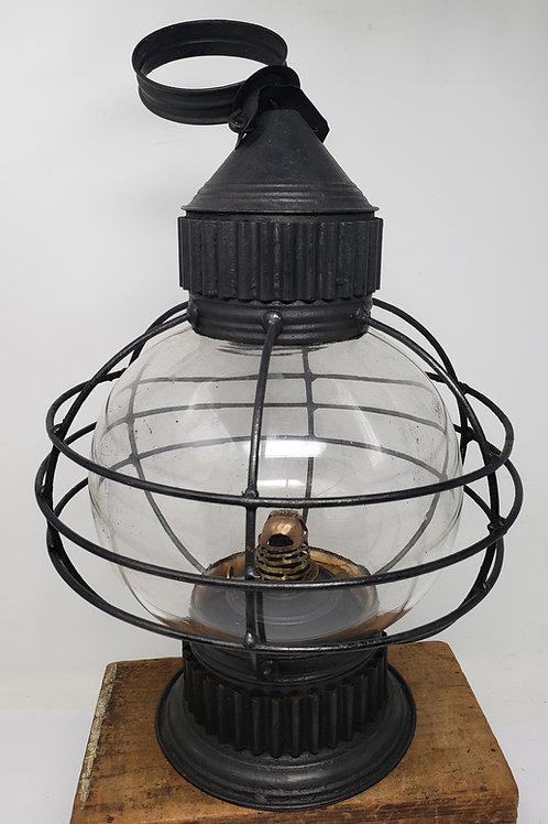 New England Glass Co Marintime onion fixed globe