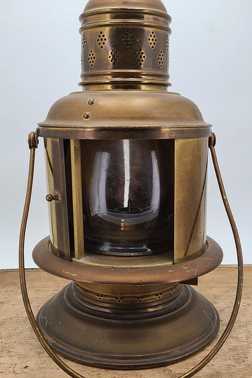 S.M. Aikman U.S. Coast Guard Blackout lantern ( unfired )