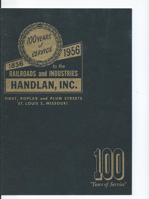 Handlan Railroad Lamps & Lanterns 1856-1956 Catalog