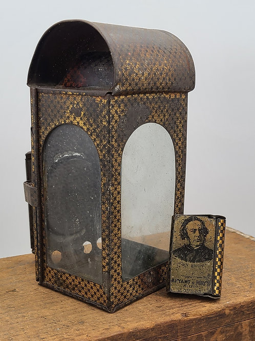 Bryant and May's patent candle lantern