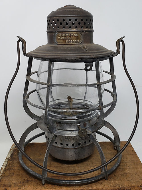 F.O. Dewey's Maker watchman lantern made by Armspear Mfg.