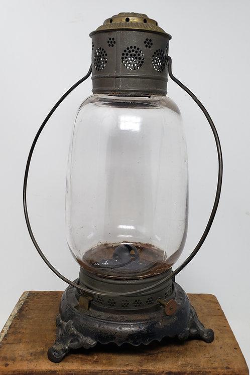 G.F.J. Colburn cast iron footed Fixed globe