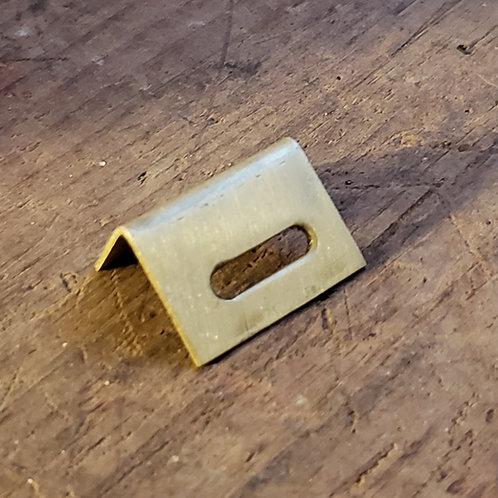 Brass Lid latch bracket