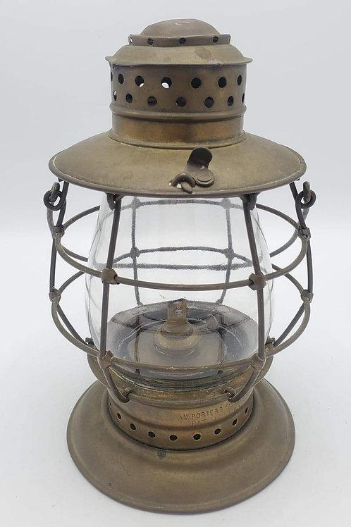 Brass William Porter's Sons ( marked PORTER globe)
