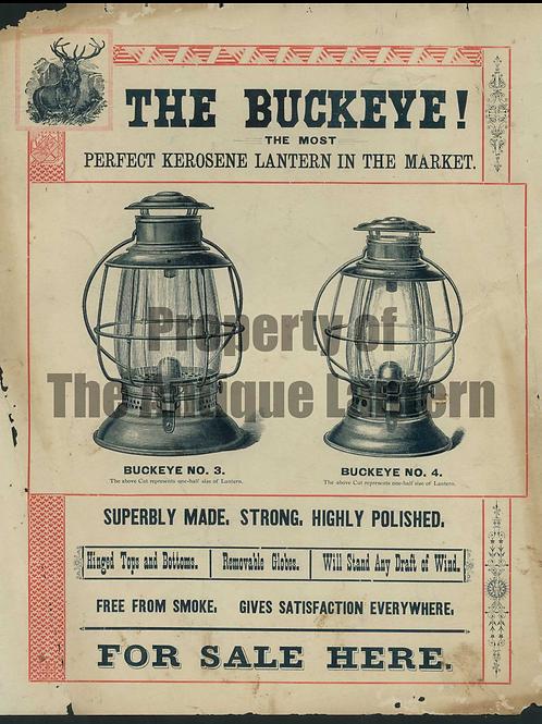 Baron Buckeye Poster 11x14 Print