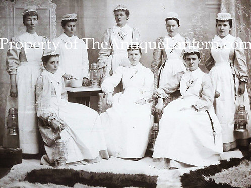 Nurses with lanterns photo hi-res copy 8x11