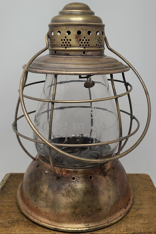 Bonell and Gridley 1869 patent peerless model ( rare 6in globe size)