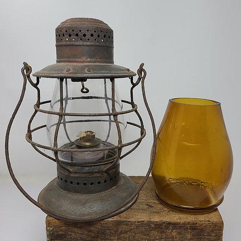 Dietz No.6 bell bottom 1890 patent ( 2 globes )