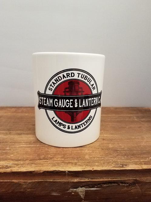 Steam Gauge and Lantern Coffee Mug