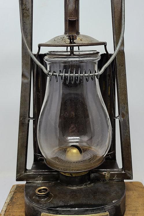 Steam Gauge Lantern Co. No.15 dash ( brass tagged MILLER)