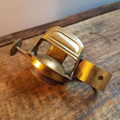Brass Convex burner w/finger loop