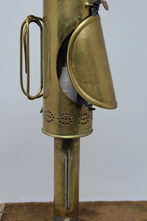 Joseph Walton 1874 patent oscillating hand  candle lantern
