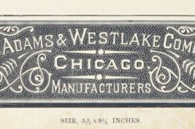 Adams & Westlake 1890 Catalog hardware for Railroad cars PDF copy on CD 444pages